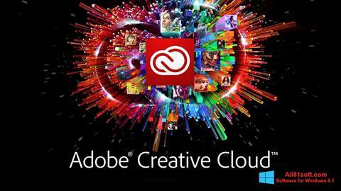 Screenshot Adobe Creative Cloud für Windows 8.1