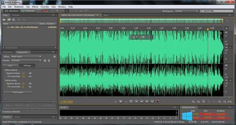 Screenshot Adobe Audition für Windows 8.1