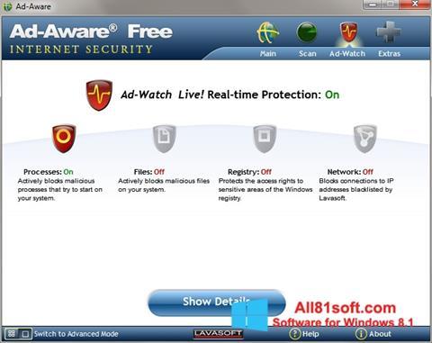 Screenshot Ad-Aware für Windows 8.1