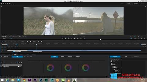 Screenshot Adobe SpeedGrade für Windows 8.1