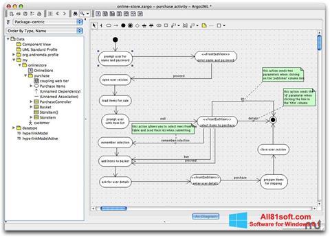 Screenshot ArgoUML für Windows 8.1