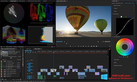 Screenshot Adobe Premiere Pro für Windows 8.1