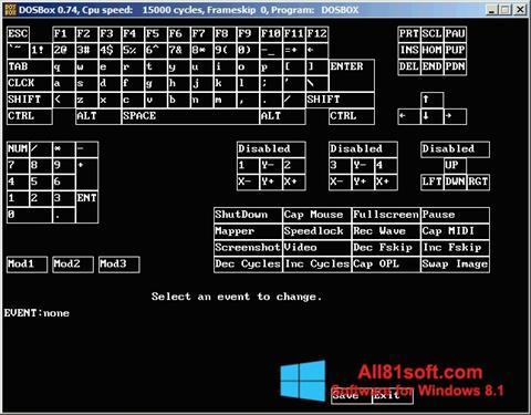 Screenshot DOSBox für Windows 8.1