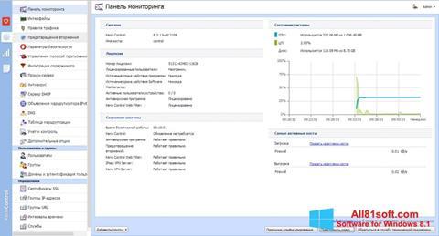 Screenshot Kerio Control für Windows 8.1