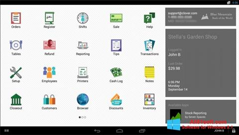 Screenshot Clover für Windows 8.1
