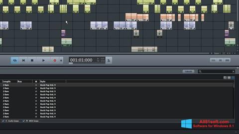 Screenshot MAGIX Music Maker für Windows 8.1