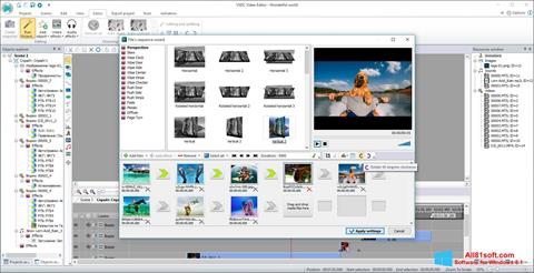 Screenshot VSDC Free Video Editor für Windows 8.1