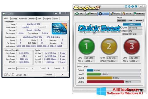 Screenshot EasyTune für Windows 8.1