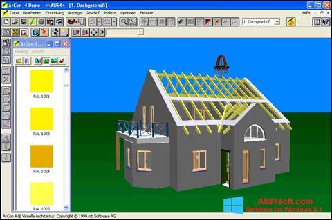 Screenshot Arcon für Windows 8.1