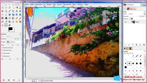 Screenshot GIMP für Windows 8.1