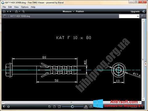 Screenshot DWG Viewer für Windows 8.1