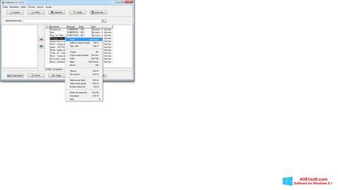 Screenshot ArtMoney Pro für Windows 8.1