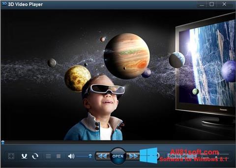 Screenshot 3D Video Player für Windows 8.1