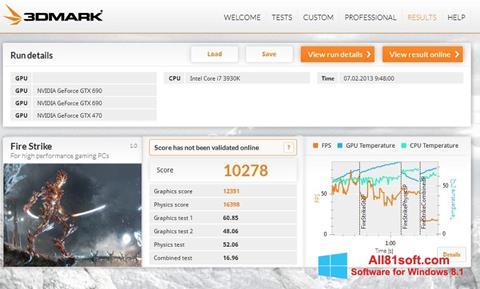 Screenshot 3DMark für Windows 8.1