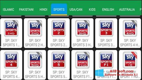 Screenshot Net TV für Windows 8.1