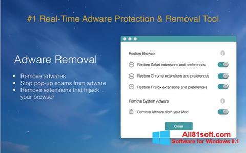 Screenshot Adware Removal Tool für Windows 8.1