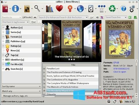 Screenshot Calibre für Windows 8.1