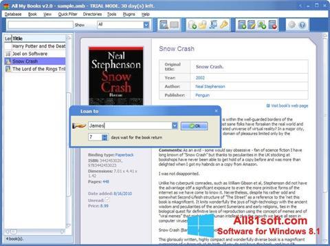 Screenshot All My Books für Windows 8.1