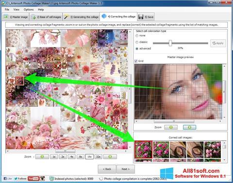 Screenshot Photo Collage für Windows 8.1