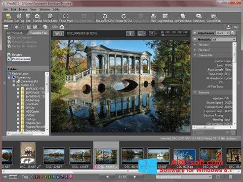 Screenshot ViewNX für Windows 8.1
