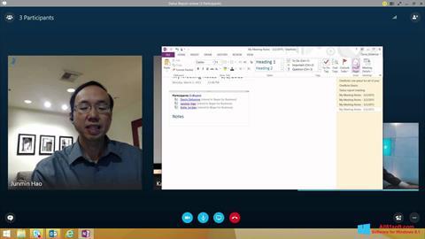 Screenshot Skype for Business für Windows 8.1