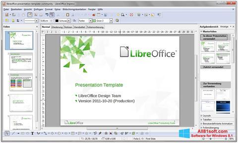 Screenshot LibreOffice für Windows 8.1