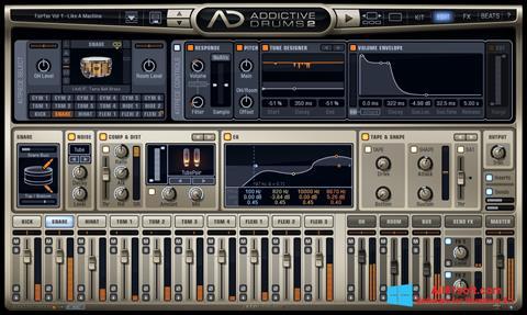 Screenshot Addictive Drums für Windows 8.1