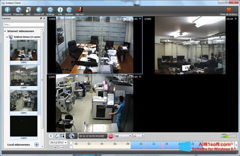 Screenshot Ivideon Server für Windows 8.1