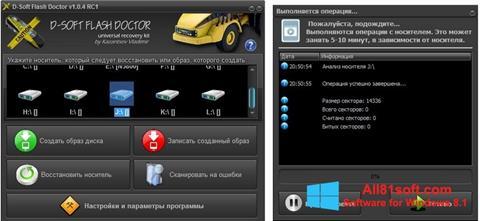 Screenshot D-Soft Flash Doctor für Windows 8.1