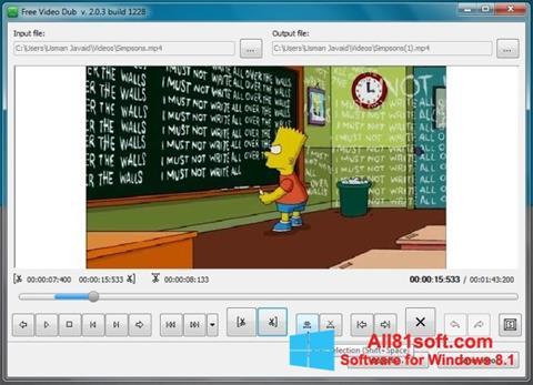 Screenshot Free Video Dub für Windows 8.1