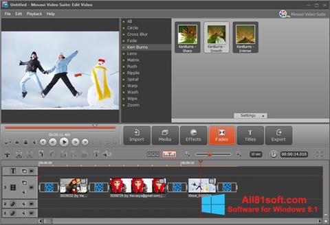 Screenshot Movavi Video Suite für Windows 8.1