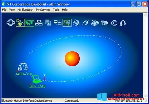 Screenshot BlueSoleil für Windows 8.1