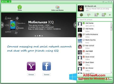 Screenshot ICQ für Windows 8.1