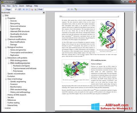 Screenshot Sumatra PDF für Windows 8.1