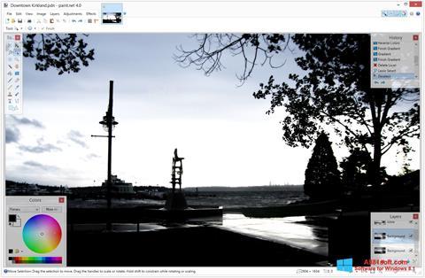 Screenshot Paint.NET für Windows 8.1