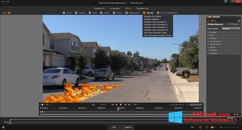 Screenshot Pinnacle Studio für Windows 8.1