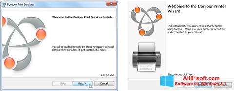 Screenshot Bonjour für Windows 8.1