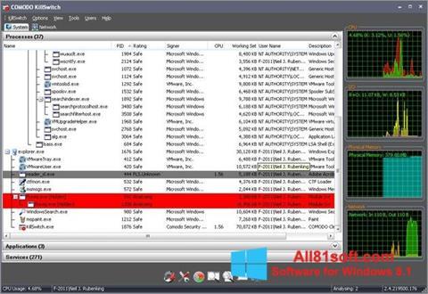 Screenshot Comodo Cleaning Essentials für Windows 8.1