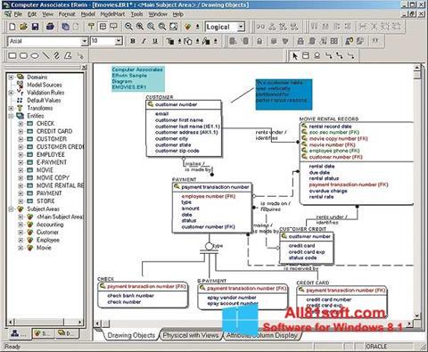 Screenshot ERWin für Windows 8.1