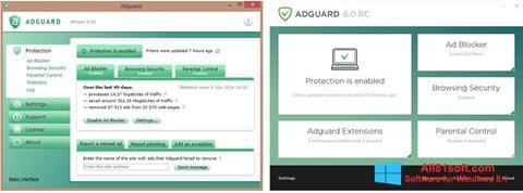 Screenshot Adguard für Windows 8.1