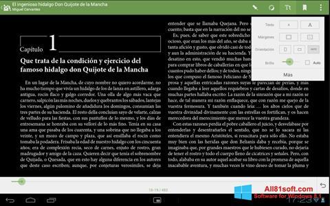 Screenshot BookReader für Windows 8.1