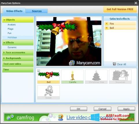 Screenshot ManyCam für Windows 8.1