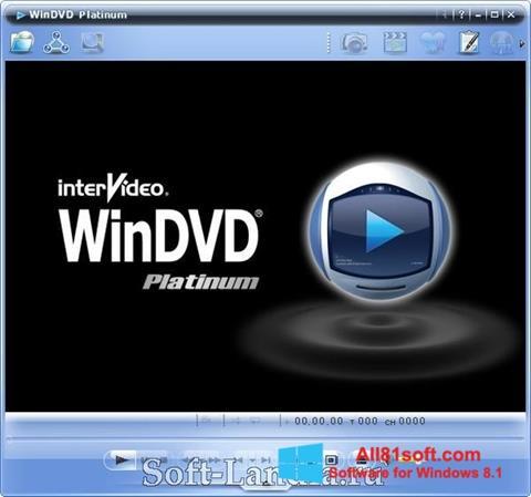 Screenshot WinDVD für Windows 8.1