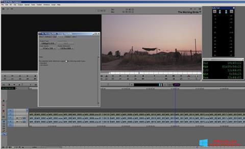 Screenshot Avid Media Composer für Windows 8.1