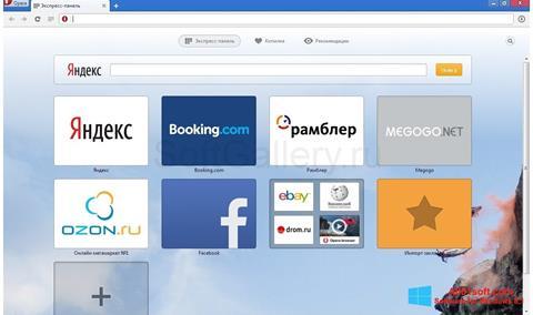 Screenshot Opera Next für Windows 8.1