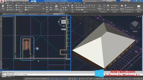 Screenshot AutoCAD Architecture für Windows 8.1