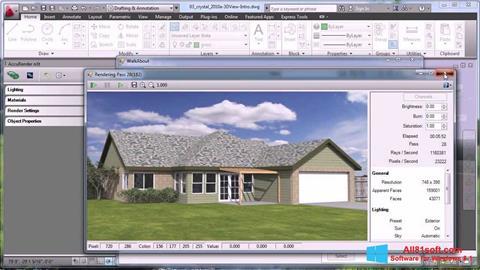 Screenshot AutoCAD für Windows 8.1