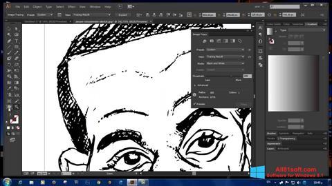 Screenshot Adobe Illustrator CC für Windows 8.1