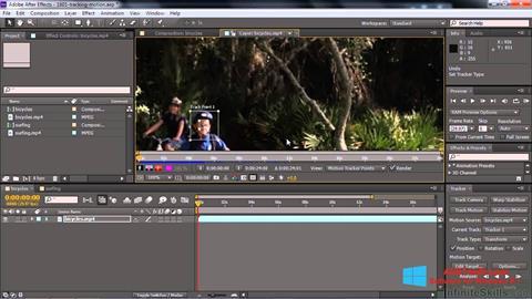Screenshot Adobe After Effects CC für Windows 8.1