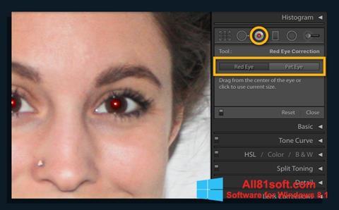 Screenshot Red Eye Remover für Windows 8.1